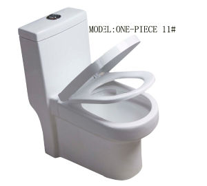 Single Piece Toilet Super Siphonic with Saso/Ce pictures & photos