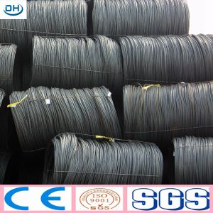 SAE1008 6.5mm Low Carbon Steel Wire Rod for Construction pictures & photos