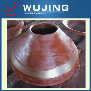 Mining Equipment High Manganese Steel Casting Mantle for Cone Crusher