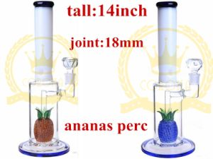 Matrix and Honeycomb Two Fuction Perc Smoking Tobacco Glass Water Pipe pictures & photos
