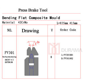 Press Brake Tool, Top Tooling, Top Punch, Press Brake Tools pictures & photos