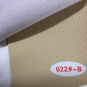 Nice Grain Embossing Synthetic Decorative Leather (HS022#) pictures & photos