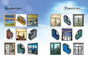 Aluminium Profile for Casement Windows and Doors pictures & photos