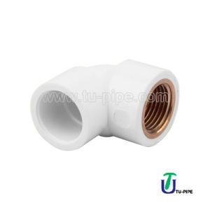 UPVC Elbows with Brass ASTM D2466 pictures & photos