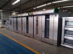 Gas /Electricity /Diesel/Coal Power Rotary Rack Ovens pictures & photos