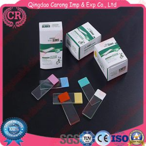 High Quality Clean Frosted Ground Microscope Slides pictures & photos