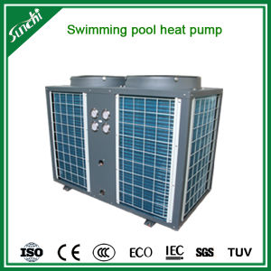 Thermostat 25~350cube Meter Water 30deg. C 12kw/19kw/35kw/70kw R410A Cop4.62 Anti Corrosion Titanium Swimming Pool Chiller pictures & photos
