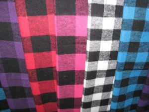Flannel Checks Heavy Shirting Fabric pictures & photos