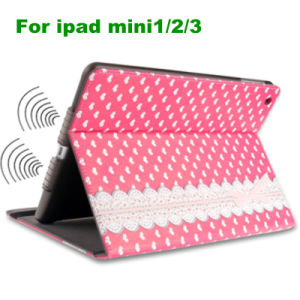 Supply iPad Accessories Polka DOT PU iPad Mini Cover