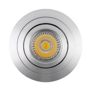 Lathe Aluminum GU10 MR16 Round Tilt Recessed LED Ceillign Light (LT2302B) pictures & photos