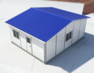 High Quality Cheap Sandwich Panel Prefab Houses in China pictures & photos
