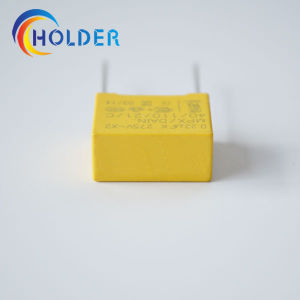 Metallized Polypropylene Yellow Box Film Capacitor (X2 0.22UF 275V) pictures & photos