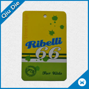 Brand Best Price Paper Swing Tag for Clothing Accessories pictures & photos