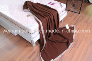 Woven Woolen Pure Virgin Wool Blanket pictures & photos