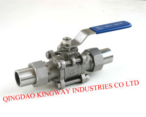 3-PC Union Butt Weld Ball Valve,