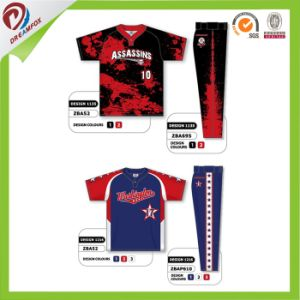 Dreamfox Factory Wholesales Digital Sublimated Baseball Jersey pictures & photos