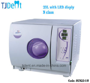 23L European N Class LED Affordable Economical Dental Autoclave (SUN23-I-N) pictures & photos