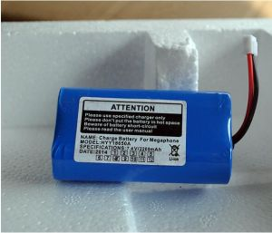 18650 2200mAh 7.4V Rechargeable Li-ion Lithium Battery Pack pictures & photos
