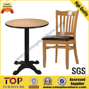 Strong Steel Cafe Restaurant Dining Tables pictures & photos