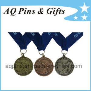 Gymnastics Medal with Antique Finish pictures & photos