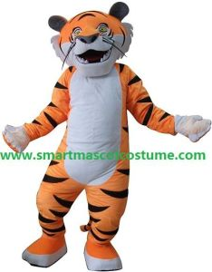 Adult Jungle Tiger Mascot Costume