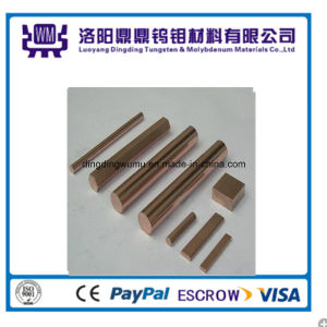 High Quality Tungsten Copper (WCu) Rod From Luoyang Manufacturer pictures & photos