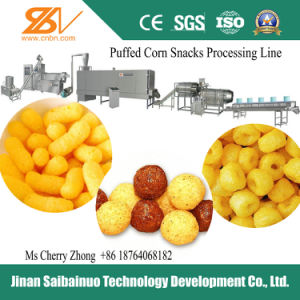 Corn Snacks Processing Line Machinery (SLG65/70/85) pictures & photos