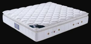 7-Zone Pillow Top Pocket Spring Mattress (P386) pictures & photos