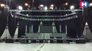 Foldable LED Screen for Indoor/ Semmi Outdoor Stage Live Show