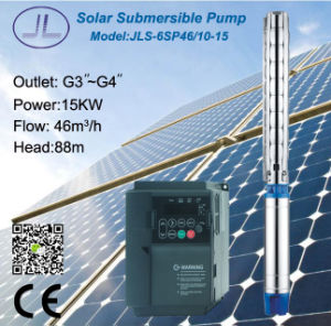 6SP46-10submersible Centrifugal Solar Water Pump pictures & photos