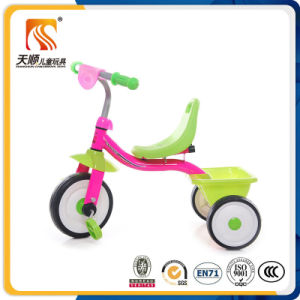 2017 Simple Design Steel Frame 3 Wheels Children Tricycle pictures & photos
