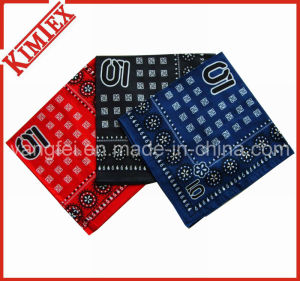 Unisex Wholesale Fashion Printed Square Cotton Bandana pictures & photos