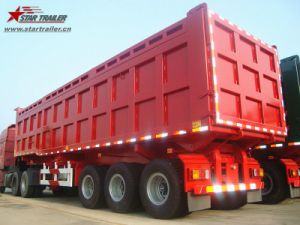 Heavy Haul Rear / Side Dump Trailer with 3-4axles pictures & photos