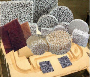 ISO Certified Porous Sintered Ceramic Foam Filter (Silicon Carbide, Alumina, Zirconia, Magnesia) pictures & photos