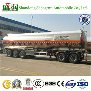 Aluminum Alloy Three Axles Fuel Tanker Trailer