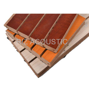 China Decorative Sound Absorbing Wall Panels Wooden
