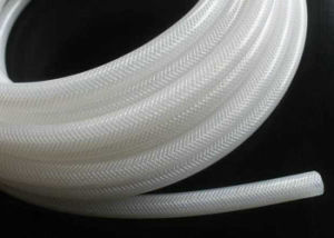 Food Grade Silicone Braided Hose, Silicone Reinforeced Hose, Silicone Fiber Hose Without Smell pictures & photos