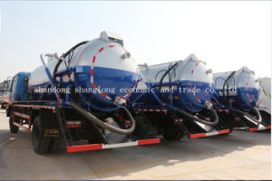 4X2 10ton Garbage Truck/ 10 Cubic Meters Suction Sewage Truck pictures & photos