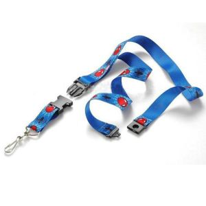 ID Card Holder Lanyard with Safety Buckle pictures & photos