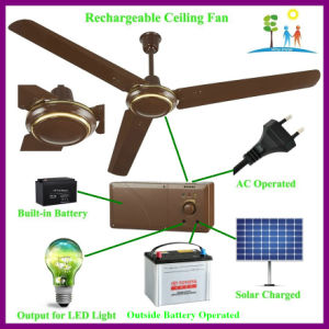 Qasa Rechargeable Ceiling Fan for Africa Market pictures & photos