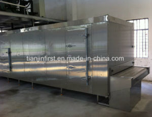 Tunnelquick Freezing, Walking Freezer for Meat Seafood pictures & photos