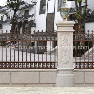 Spraying Aluminum Villa Garden Security Fence pictures & photos