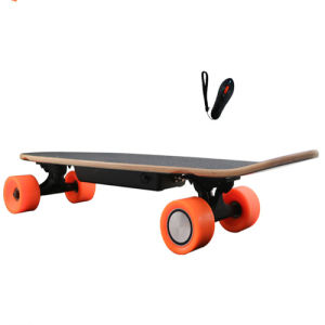 Smart Fishing Four Wheel PU Wheel Maple Electric Skateboard pictures & photos
