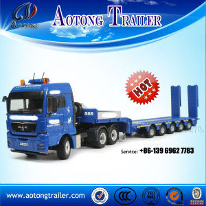 20 Line-Axles Hydraulic Steering Modular Trailer (9+concave beam+11) pictures & photos