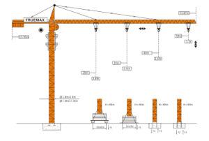 Construction Crane Tower Crane (TC5613) pictures & photos