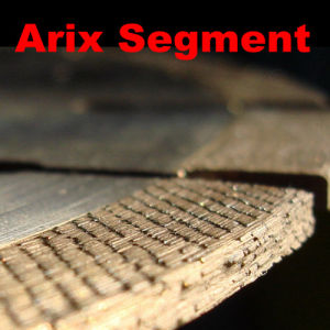 Arix-Type Segments Stone Cutting Diamonds pictures & photos