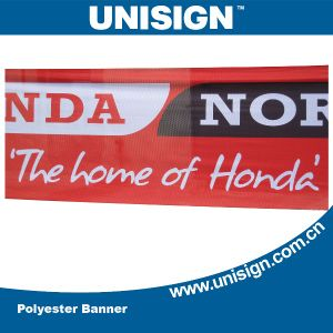 Unisign Mesh Banner with Customized Size and Design (UMB-1) pictures & photos