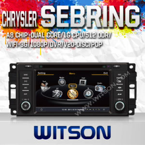 Witson Car DVD with GPS for Jeep Compass, Dodge Caliber, Dodge Coliber pictures & photos