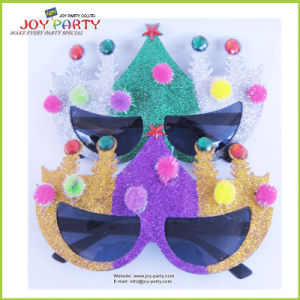 Christmas Tree Glittering Party Glasses pictures & photos