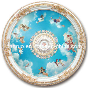 Elegant Fiberglass Artistic Ceiling with Angels Decoration (BRRD15-F1-024) pictures & photos